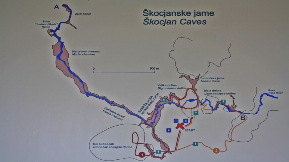 Naturaleza en Eslovenia – Las cuevas de la región cárstica