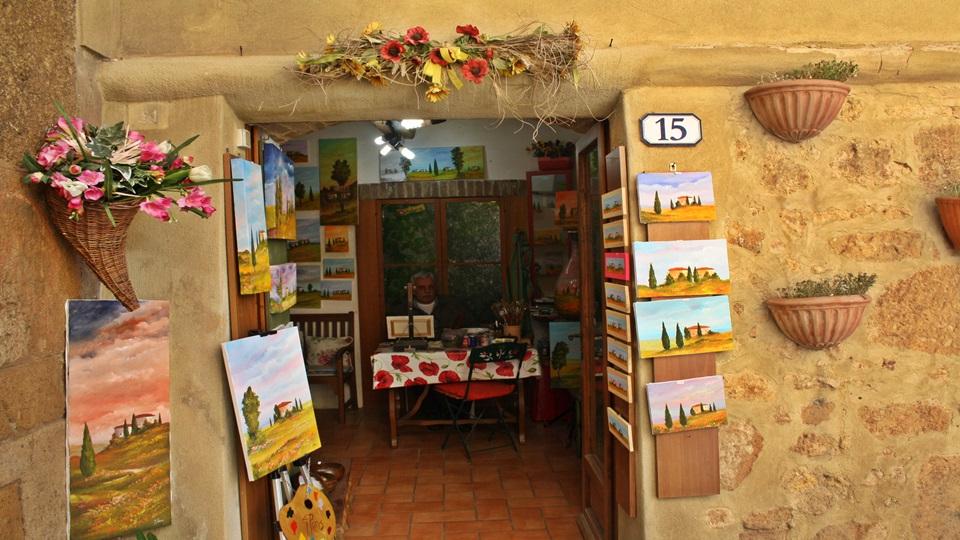 Toscana soleada – Paisajes de la Toscana