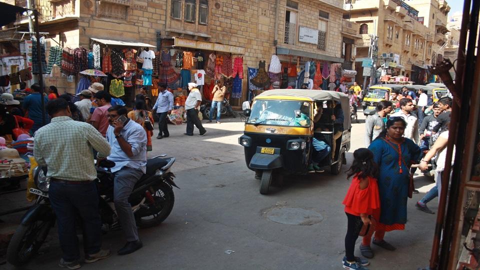 Expedición por el norte – Jaisalmer, la ciudad dorada