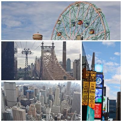 Mosaico de Nueva York