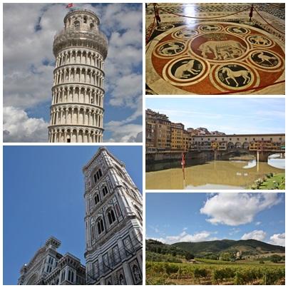Mosaico de la Toscana